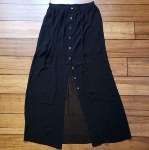 Forever 21 • Black Maxi Skirt S